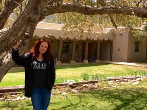 Me in front of the Coe Ranch