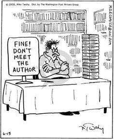 dont meet the author